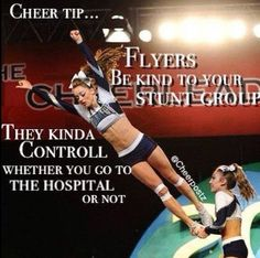 Wow. But even if my flyer was mean to be I'd never drop her on purpose.