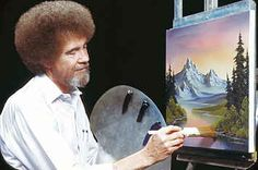 Bob Ross Painting Episodes Are Streaming Online And People Are Stoked