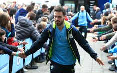 Bernardo Silva of Manchester City arrives at the stadium prior to the FA Cup Fourth Round match between Manchester City and Burnley at Etihad Stadium on January 2019 in Manchester, United Kingdom. Get premium, high resolution news photos at Getty Images Manchester England, Manchester City, Manchester United, Zen, Messi Soccer, Bernardo, January 26, Burnley, Fa Cup
