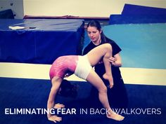 Quick Tip – Eliminating Back Walkover Fear | Swing Big! Gymnastics Blog