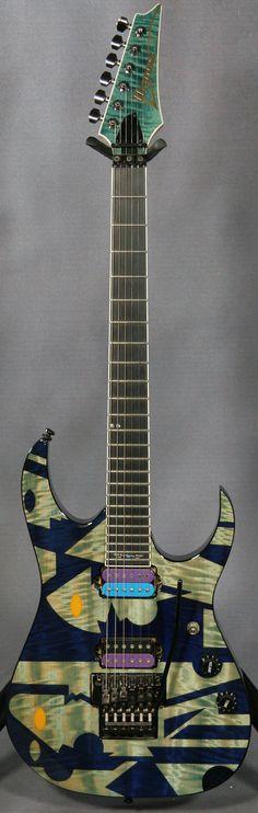 Ibanez JPM90HAM - Hoshino 90th Anniversary Guitar (Picasso graphics)