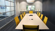PatientPoint's new open design and collaborative work spaces have changed the feeling of working for the growing technology company for the better. Work Stations, Cincinnati, Space, Table, Projects, Furniture, Design, Home Decor, Floor Space