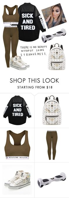 """#312"" by mildabas ❤ liked on Polyvore featuring MCM and Pretty Little Thing"