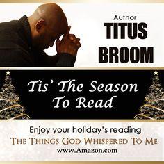 Tis the season to read with #AuthorTitusBroom