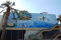 """Rock 'N Roll Beach Club at Pleasure Island in Downtown Disney at Disney World closed in September 2008. --- Get free and helpful Disney World """"How To"""" vacation planning guides, a list of 45 great Disney World freebies, and Step-by-Step advice to help make your next Disney vacation your best Disney vacation ever!  See: http://www.buildabettermousetrip.com/disney-freebies/ #Disney #Disneyworld #WDW  #DTD"""