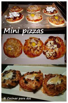 Mini pizzas | Cocinar Para 2