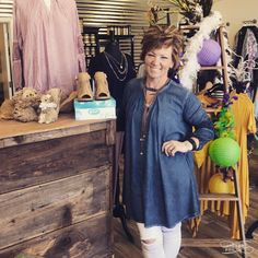 Loving this new mineral wash denim look swing top! Comes in blue or blush and sizes Small-Large (runs very big!)! Stop by and see us for yours!  1030-530 200 Bell Lane WM 318.884.7467 #thefleurtygingerboutique #northlouisianasplussizeheadquarters #shoptfgb #shoplocal #newarrivals