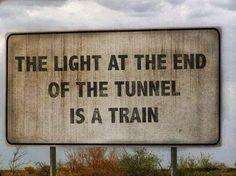 Pessimism.... True though.