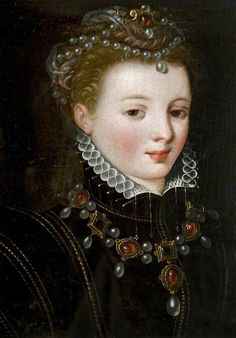 Mary Stuart Queen of Scots I wonder if this isnt actually a portrait of Margaret of Parma, Regent of the Netherlands. Mary Queen Of Scots, Queen Mary, Mary Stuart, Tudor History, British History, Asian History, Isabel I, House Of Stuart, Elisabeth I