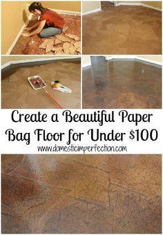 paper bag floor