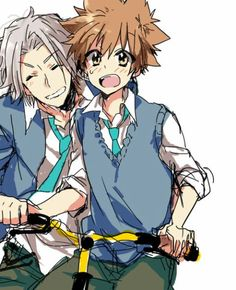 Katekyo Hitman Reborn!, Hayato Gokudera,you know you love these two when you start calling them 5927