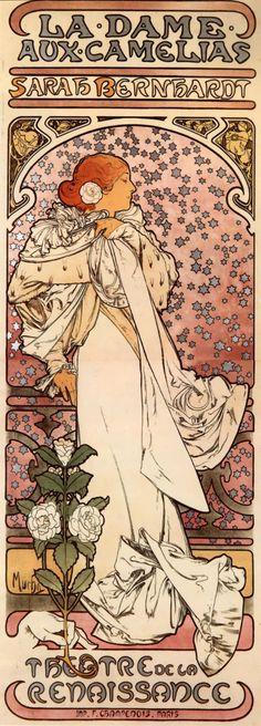A favorite of mine of Alphonse Mucha.