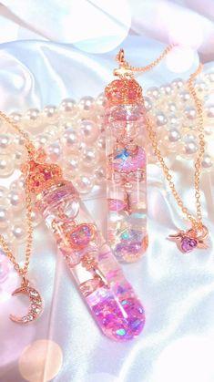 candy and kawaii image Kawaii Jewelry, Kawaii Accessories, Cute Jewelry, Jewelry Accessories, Magical Jewelry, Accesorios Casual, Fantasy Jewelry, Resin Crafts, Jewelery