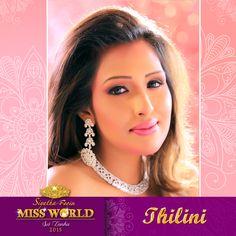 Thilini Amarasuriya - Miss World Sri Lanka 2015