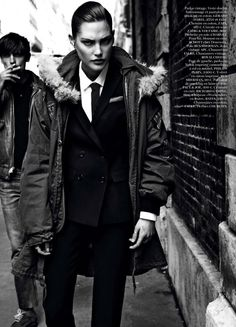 Catherine McNeil by Claudia Knoepfel & Stefan Indlekofer for Vogue Paris August 2013 2