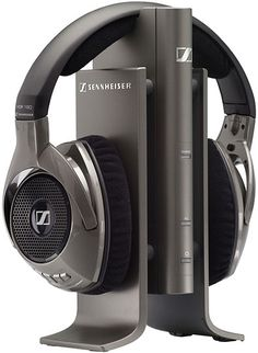 Crutchfield reviews the Sennheiser RS 180 wireless headphones -- and discovers Wi-Fidelity!