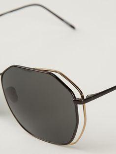 Linda Farrow '350' Sunglasses - Maria Store - Farfetch.com:
