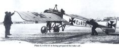 Pfalz E.I 479/15 is being prepared for take-off
