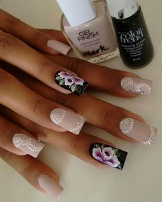 Manicure And Pedicure, Nail Designs, Hair Beauty, Nail Art, Nails, Makeup, Chic Nails, Pretty Nails, Gorgeous Nails