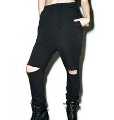 DollsKill: Sinner Cut-Out Sweatpants