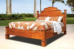 Koa furniture, made by in-house and independent craftsmen, is the main offering at Martin & MacArthur.