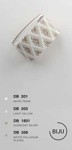 US$4.72 peyote bracelet pattern, peyote pattern, odd count, stitch pattern, pdf file, pdf pattern, #27BIJU