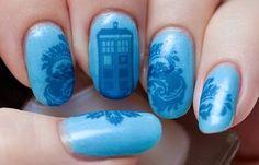 Tardis Nails