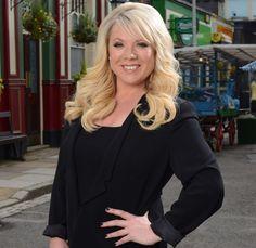 Letitia Dean returns to Eastenders as Sharon.