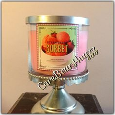 Bath and Body Works a Strawberry Sorbet candle Spring 2014