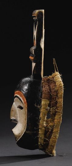 Igbo Mba Mask, Afikpo, Nigeria http://www.imodara.com/item/nigeria-igbo-mba-okumkpa-mask/