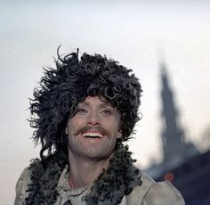 """Daniel Olbrychski, my favorite Polish actor in a role of Andrzej Kmicic, unruly and yet patriotic in """"The Deluge"""" movie. In the background there is """"The Monastery of Jasna Góra"""" in Czestochowa, Poland, beloved and important side for many Poles. Boy Art, Aesthetic Clothes, Jon Snow, Movie Stars, Poland, Celebs, Face, People, Movies"""
