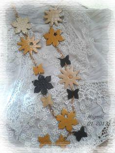 fleurs3 Polymer Clay, Bead, Jewels