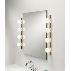 Set d 39 accessoires de salle de bain design c ramique blanc for Miroir baroque pour salle de bain