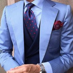 #suit #shirt #pocketsquare #watch #accessories #luxury #fashion #style #entrepreneur #dapper #wedding #work #business #firstclass #live#life#love #rolex #realestate #white#blue#red #lifestyle #follow #thegentlemensvault #d
