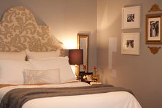 Just a Touch of Gray: Roomspiration Master Bedroom Day - Link up HERE!