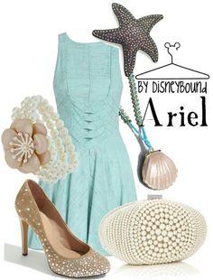 Ariel--- disneybound