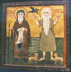 In an article posted in November of I spoke briefly about the connection between the Egyptian, Coptic desert monks and Celtic Ireland and Britain. Anthony The Great, The Wild Geese, Orthodox Icons, Weird Art, Egyptian Art, Sacred Art, Religious Art, Art Museum, Art Gallery