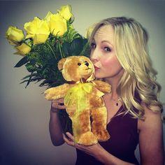 "@craccola's photo: ""Damn I got a good hubby! Stopping to smell the roses on my last day of filming thanks to @josekingseco #bearygrateful #solongseasonsix #seeyasoonseasonseven"""