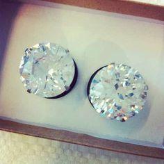 Diamond ear plugs                                                                                                                                                                                 More