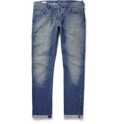 Paul SmithSlim-Fit Washed Selvedge Denim Jeans.  485