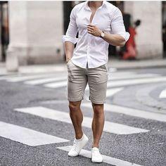 Best moda hombre verano casual summer ideas 114 𝚙 𝚒 𝚗 𝚝 𝚎 𝚛 𝚎 𝚜 𝚝: ✰𝚊𝚗𝚒𝚜𝚊𝚖𝚔𝚠𝚊𝚗𝚊𝚣𝚒✰ Men Accessories Summer Outfits Men, Casual Outfits, Casual Outfit For Men, Men's Outfits, Summer Wear Mens, Men's Casual Shirts, Men Summer Fashion, Fashionable Outfits, Dress Casual