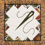 via Martingale - paper pieced quilt block--needle