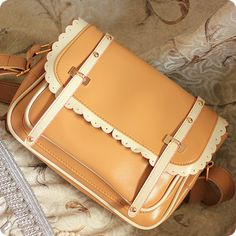 (FL006830) 2012 Spring And Summer Arrival Korean Of The Candy-color Messenger Bags Contrast Color Hollow Lace Messenger Bag Woman Cute Little Satchel Post [FL006830] - AU$33.91 : FashionLeap