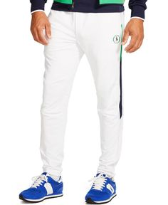 Polo Ralph Lauren Stretch-Twill Track Pants