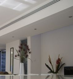 linear in main rooms and master suite hvac ceiling register ac covers Ceiling Vents, Air Duct, Air Ventilation, Ceiling Design, Aircon, Air Conditioner Design, Air Conditioning Design, Ceiling Light Design, False Ceiling