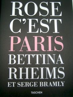 Fotografie; Bettina Rheims & Serge Bramly - Rose c'est Paris - 2011 - Catawiki