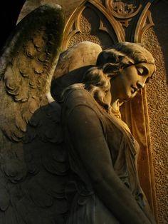 Golden Angel by ~the-cat-whisperer  (Inglewood Park Cemetery Inglewood, California)