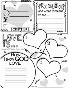 Planner and Journaling Printables ❤ Valentine's Day Graphic Organizer Activity Poster Freebie! Church Activities, Bible Activities, Sunday Activities, Bible Games, Holiday Activities, Sunday School Lessons, Sunday School Crafts, My Funny Valentine, Valentine Poster