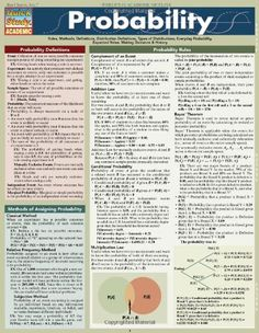 Probability Quick Study Reference Outline by Ravi Behara