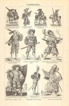 Landsknechte German and Swiss Mercenary